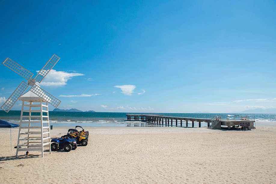 企业团建去哪儿玩呢?海边沙滩主题团建