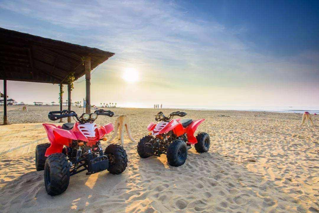 企业团建去哪儿玩呢?沙滩车主题团建